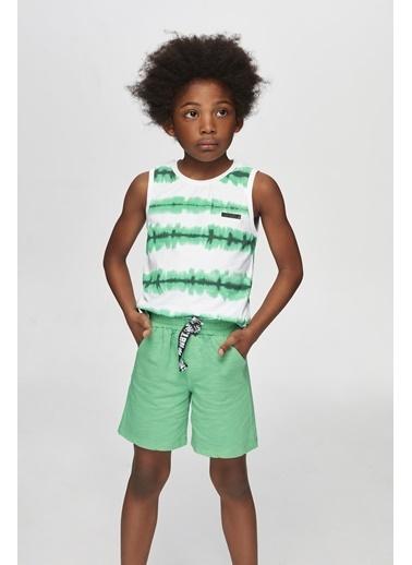 Nebbati Erkek Çocuk Yeşil Şort 20SS0NB3111 Yeşil